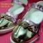 L16B622 - Pink รองเท้าเด็กผู้หญิง สีทอง-ชมพู ใส่ไปงานแต่ง งานเลี้ยง ไซส์26-30 thumbnail 4