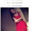 ชุดเดรสแฟชั่นเกาหลี แขนกุด ผ้าซีทรูตาข่าย มีซับใน สีแดง thumbnail 2