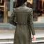(Pre-order) เสื้อแจ็คเก็ตหนังแท้ เสื้อโค๊ตยาว หนังแกะ แฟชั่นเกาหลี สีเขียวทหาร thumbnail 4