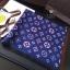 พร้อมส่ง ~ ผ้าพันคอ Lv Logomania scarf ทอลาย monogram pattern thumbnail 4