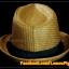 หมวกสาน ทรงไมเคิล สีน้ำตาลเข้ม ขอบเรียบ แถบดำ ฮิตๆ !!! thumbnail 3