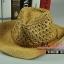 (Pre-order) หมวกปีกกว้าง หมวกสาน ป้องกันแดด สำหรับกิจกรรมกลางแจ้ง เที่ยวทะเล สีกากี thumbnail 1