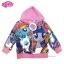 ฮ (สำหรับเด็ก4-6-8-10 ปี) Jacket My Little Pony for Girl เสื้อแจ็คเก็ต เสื้อกันหนาว เด็กผู้หญิง สีม่วง สกรีนลาย มายลิตเติ้ลโพนี่ รูดซิป มีหมวก(ฮู้ด) ใส่คลุมกันหนาว กันแดด ใส่สบาย ลิขสิทธิ์ฮาสโบแท้ โพนี่แท้ thumbnail 1