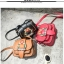 Pre-Order กระเป๋าสะพายผู้หญิง หนังเทียม PU และสายสะพายยาว ปักหมุดสวยมาก หรูหรา thumbnail 3