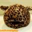 หมวกขนนุ่ม มีเขา ลายเสือดาว สีน้ำตาล น่ารักมากกกก thumbnail 5