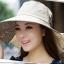 Pre-order หมวกแฟชั่น หมวกใบกว้าง หมวกฤดูร้อน กันแดด หมวกกันแสงยูวี ผ้าลินิน สีขนสัตว์พิมพ์ลายดอกไม้ thumbnail 1