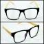 กรอบแว่นตา LENMiXX BigBlack Wood thumbnail 1