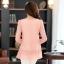 (Pre-Order) เสื้อลูกไม้ชีฟองแขนยาว สีพื้น เสื้อทำงานหรือลำลอง แฟชั่นเสื้อลูกไม้สไตล์เกาหลีปี 2014 thumbnail 3