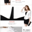Pre-Order ชุดสูทแฟชั่นผู้หญิง เสื้อสีขาว แบบบาง ซับในครึ่งตัว แขนสามส่วน แต่งแขนด้วยผ้าโปรง +กระโปรงสอบ +เสื้อซับใน thumbnail 3