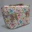 กระเป๋าถือ นารายา ผ้าคอตตอน ลายช้าง หลากสี ติดโบว์เล็กๆ ด้านหน้า สายหิ้ว หูเปีย (กระเป๋านารายา กระเป๋า NaRaYa กระเป๋าผ้า) thumbnail 1