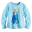 z Anna and Elsa Long Sleeve Tee for Girls - Frozen ของแท้ นำเข้าจากอเมริกา (Size:4) thumbnail 1