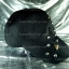 หมวกแก๊ป Cap สีดำ แต่งหนาม ดาว 2 แถว พาดหมวก thumbnail 3