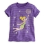zTinker bell striped tee for girls(size 5/6)(พร้อมส่ง) thumbnail 1