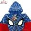 """"""" S-M-L-XL """" เสื้อแจ็คเก็ต Spiderman เสื้อกันหนาว เด็กผู้ชาย สีน้ำเงิน รูดซิป มีหมวก(ฮู้ด) ใส่คลุมกันหนาว กันแดด สุดเท่ห์ ใส่สบาย ลิขสิทธิ์แท้ (ไซส์ S-M-L-XL ) thumbnail 7"""