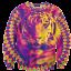 เสื้อยืดพิมพ์ลาย MR.GUGU & Miss GO : Tiger sweater thumbnail 1