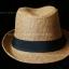 หมวกสาน ทรงไมเคิล สีน้ำตาลขอบเรียบ แถบดำ ฮิตๆ !!! thumbnail 4