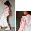 เสื้อผ้าเด็ก PinkIdeal เสื้อสีขมพูแขนยาวจั๊มปลายแขน thumbnail 3