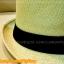 หมวกสาน ทรงไมเคิล สีขาวขอบเรียบ แถบดำ ฮิตๆ เท่ห์ !!! thumbnail 5