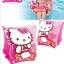 Kitty Deluxe Arm Bands , Age 3-6 ปลอกแขนว่ายน้ำ ลายคิตตี้ สีชมพู 56656 ลายคิตตี้ สีชมพู คิตตี้แท้ ลิขสิทธิ์แท้ thumbnail 3