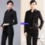 (Pre-order) เสื้อเชิ้ตทำงาน เสื้อเชิ้ตผู้หญิงแขนยาว เชิ้ตดำ แฟชั่นเกาหลี ไซส์ใหญ่ thumbnail 5