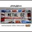 กรอบป้ายทะเบียนรถยนต์ carblox ระหัส METAL 02 metallic frame อลูมิเนียม เฟรม thumbnail 1