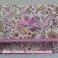 กระเป๋าเครื่องสำอางค์ นารายา ผ้าคอตตอน ลายหยดน้ำ สีชมพู มีกระจกในตัว Size L (กระเป๋านารายา กระเป๋าผ้า NaRaYa) thumbnail 2