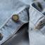 พรีออเดอร์ กระโปรงยีนส์ยาว กระดุมหน้า ผ่าหน้า กระเป๋าหน้า-หลัง สีบลูยีนส์ thumbnail 8