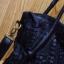 Pre-oder กระเป๋าสะพายหนังแท้ผู้หญิง เทคนิคกระเป๋าหนังสาน กระเป๋าวินเทจ สไตล์โบฮีเมียน สีดำจับจีบ thumbnail 3