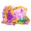 Disney Rapunzel Placemat ที่รองจาน ราพันเซล (มีของพร้อมส่ง) thumbnail 1