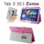 พร้อมส่ง * เคส Tab 3 10.1 มือสอด สีชมพู (ส่งฟรี EMS) thumbnail 1