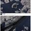 (Pre-Order) กระโปรงกางเกง ผ้าลินิน ผ้าพิมพ์ลาย แฟชั่นมาใหม่สไตล์เกาหลี (ลาย A ดอกไม้ Pteris ลาย B สีฟ้า) thumbnail 3