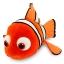 z Nemo Plush - Finding Nemo - Large - 28'' thumbnail 2