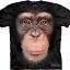 Pre.เสื้อยืดพิมพ์ลาย3D The Mountain T-shirt : Chimp Face thumbnail 1