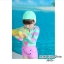ชุดว่ายน้ำ แขนยาวรูปหัวใจ กางเกงขาสั้นสีชมพู thumbnail 2