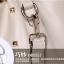 Pre-order กระเป๋าสะพายผู้หญิง Jinfenshijia กระเป๋าสไตล์ยุโรปอเมริกัน หนัง PU สีชมพู thumbnail 5