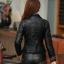Pre-Order เสื้อแจ็คเก็ตหนัง เสื้อแจ็คเก็ตผู้หญิง เข้ารูปพอดีตัว คอปก สีดำ แต่งซิปเก๋ แฟชั่นเกาหลี thumbnail 3