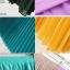 Pre-Order กระโปรงพลีท ผ้าชีฟอง สไตล์โบฮีเมียน ความยาว 50 - 96 cm.สีดำและสีบานเย็น thumbnail 2