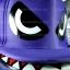 หมวกฉลาม ปากอ้า สีม่วง (2 ปีก) สุดเท่ห์ thumbnail 4