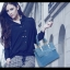(Pre-order) กระเป๋าหนัง PU กระเป๋าสะพายผู้หญิง กระเป๋า Messenger แบบย้อนยุค สไตล์ยุโรป อเมริกา สีฟ้า thumbnail 3
