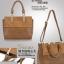 (Pre-order) กระเป๋าหนัง PU กระเป๋าสะพายผู้หญิง กระเป๋า Messenger แบบย้อนยุค สไตล์ยุโรป อเมริกา สีน้ำตาล thumbnail 10
