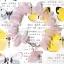 ++ Rose Quartz โรสควอซ สีชมพูอ่อนทรงหินเสี้ยว ++ thumbnail 1