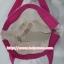 กระเป๋าสะพาย นารายา ผ้าคอตตอน พื้นสีขาว ลายดอกไม้ หลากสี ผูกโบว์ (กระเป๋านารายา กระเป๋าผ้า NaRaYa กระเป๋าแฟชั่น) thumbnail 6