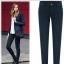 Pre-Order กางเกงยีนส์ผู้หญิง ขายาว กางเกงทรงขาเดฟ สำหรับสาวอวบ เอว 29 - 41 นิ้ว Big size thumbnail 2