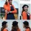 [พร้อมส่ง] หมวกชาลี : ผ้าสักหลาด ทรงกลม thumbnail 21
