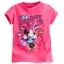 z เสื้อเด็ก ลายมินนี่เม้าส์ Minnie Mouse Glitter Tee for Girls (12-18month) thumbnail 1