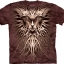 Pre.เสื้อยืดพิมพ์ลาย3D The Mountain T-shirt : Dark Roots thumbnail 1