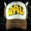 หมวก ARALE อาราเล่ รุ่นขนปุย สีน้ำตาล thumbnail 2