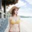 (Pre-order) หมวกปีกกว้าง หมวกสาน ป้องกันแดด สำหรับกิจกรรมกลางแจ้ง เที่ยวทะเล สีเบจ thumbnail 6
