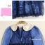 เสื้อผ้าเด็ก เดรสสีน้ำเงิน ชุดออกงานเด็ก ชุดใส่ออกงาน thumbnail 4