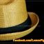 หมวกสาน ทรงไมเคิล สีน้ำตาลอ่อนขอบเรียบ แถบดำ ฮิตๆ !!! thumbnail 5